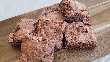 low protein brownie