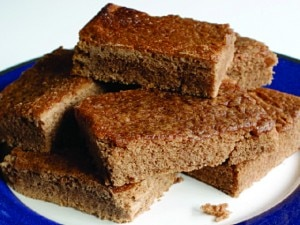 Low protein chocolate brownie