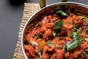 low protein vegetable curry