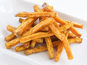 Sweet Potato Fries recipe for the PKU diet