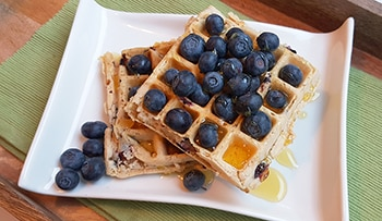 low protein waffle
