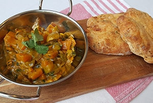 low protein vegetable korma
