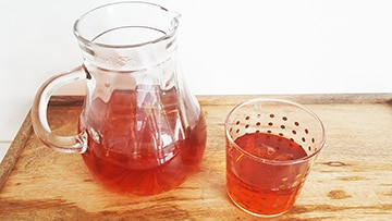low protein iced tea