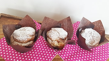 low protein muffins