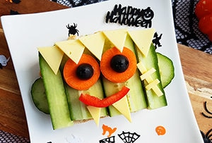 low protein halloween breakfast