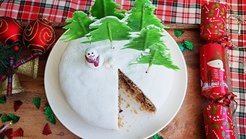 low protein christmas cake