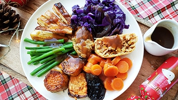 low protein christmas dinner