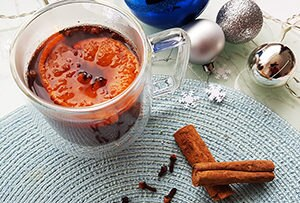 low protein mulled wine