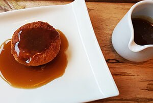 low protein sticky toffee pudding