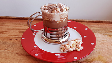 low protein hot chocolate