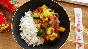 low protein chinese curry