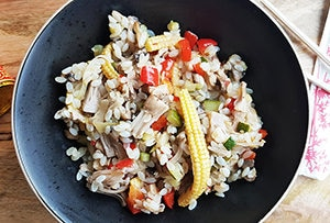 low protein fried rice