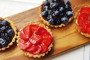low protein fruit tart