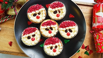 low protein christmas cupcakes