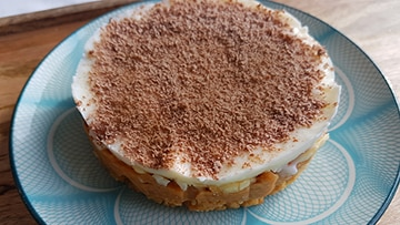 low protein banoffee pie