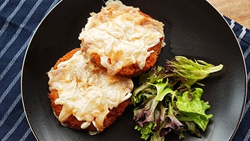 low protein parmo